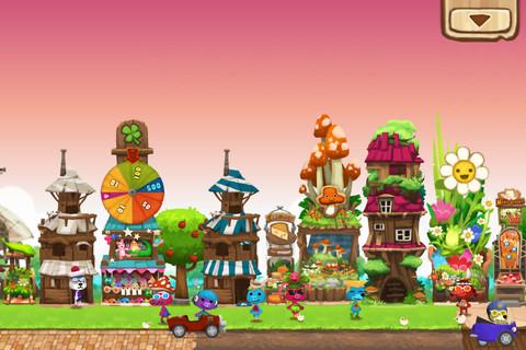Happy street 2 Lexcellent jeu iBlast Moki HD passe gratuit à loccasion de la sortie de Happy street