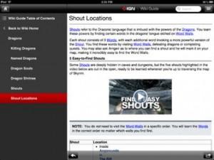 IGN Guide Skyrim result 300x225 Les bons plans de l'App Store ce vendredi 24 Août 2012