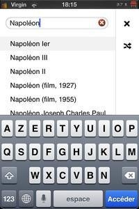 IMG 1437 Wikiweb : Simplifiez vous laccès à Wikipedia sur iDevice...(3,99€)