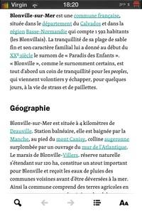 IMG 1442 Wikiweb : Simplifiez vous laccès à Wikipedia sur iDevice...(3,99€)