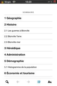 IMG 1443 Wikiweb : Simplifiez vous laccès à Wikipedia sur iDevice...(3,99€)
