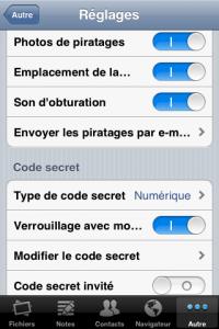 IMG 1481 200x300 Test de Gardien des secrets, un autre moyen de sécuriser son iPhone (0.79€)