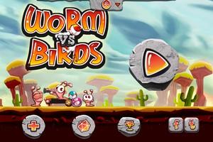IMG 1492 Test de Worm Vs Birds : un sympathique Angry Birds like...(0,79€)