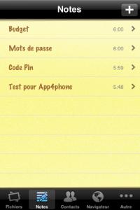 IMG 1494 200x300 Test de Gardien des secrets, un autre moyen de sécuriser son iPhone (0.79€)