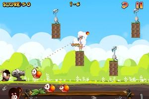 IMG 1495 Test de Worm Vs Birds : un sympathique Angry Birds like...(0,79€)