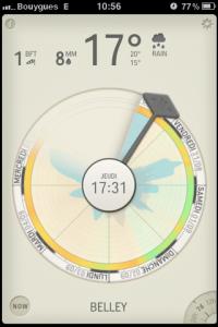 IMG 1525 200x300 Test de Partly Cloudy, une autre manière de consulter la météo (1.59€)