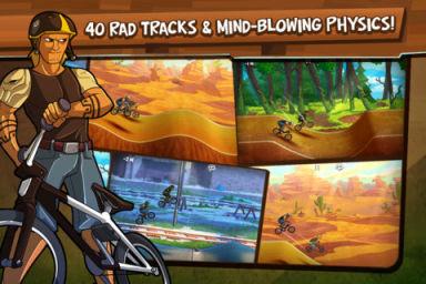 Mad Skills BMX 1 Mad Skills BMX : Les dieux de la route sont de retour ! (0,79€)