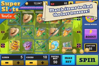 Super slots Super Slots (Gratuit) : Explosez le Jackpot sur votre iPhone !