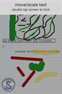TestScriblist 003 Test de Scriblist, pour annoter ce qui vous chante (0,79€)
