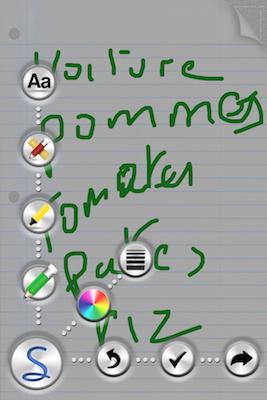 TestScriblist 008 Test de Scriblist, pour annoter ce qui vous chante (0,79€)