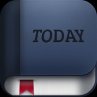 Today Calendar Test de Today Calendar : Un calendrier plus que minimaliste...(1,59€)