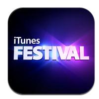 iTunes Festival 2012 logo Lapplication iTunes Festival London 2012 disponible (gratuit)