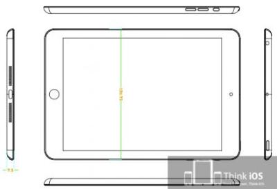 rumeur iPad mini design Les rumeurs de la semaine: Apple TV, iPad mini, iPhone 5, 4G...