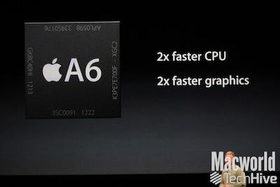 A6 Perfs iPhone 5 : Le processeur graphique est nettement amélioré