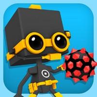 Blast A Way Test de Blast A Way : Réflexion, robots, bombes et sauvetage de Boxies...(3,99€)