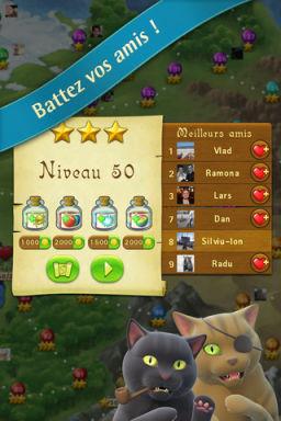 Bubble Witch 3 LApp Gratuite Du Jour By App4Phone : Bubble Witch Saga