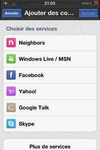 IMG 1762 Test de IM+ Pro : Tous les réseaux sociaux à portée de mains...(7,99€)