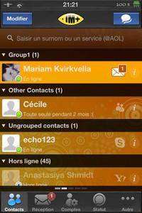 IMG 1769 Test de IM+ Pro : Tous les réseaux sociaux à portée de mains...(7,99€)