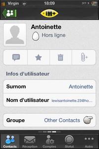 IMG 1778 Test de IM+ Pro : Tous les réseaux sociaux à portée de mains...(7,99€)