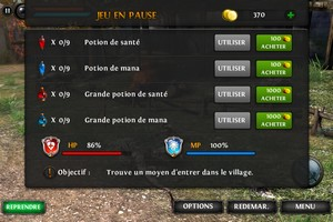 IMG 1793 Test Wild Blood : Incarnez Lancelot dans ce superbe RPG...(5,49€)