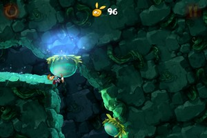 IMG 1866 Test de Rayman Jungle Run : Un bon jeu de running plateformes...(2,39€)