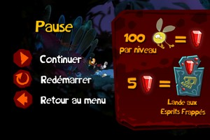 IMG 1868 Test de Rayman Jungle Run : Un bon jeu de running plateformes...(2,39€)