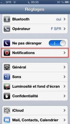 NPD ios6 1 Astuce iOS6 : Le nouveau mode Ne pas déranger