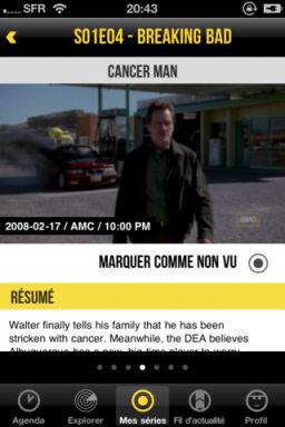 Tv Show Time 2 LApp Gratuite Du Jour By App4Phone : TvShow Time