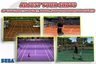 Virtua Tennis Encore des jeux iOS de qualité à prix cassé ce Week End !