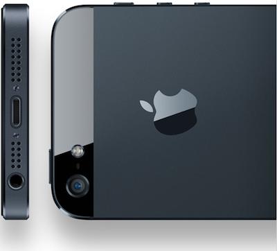 iPhone 5 arriere Un nombre Époustouflant de précommandes pour liPhone 5 !