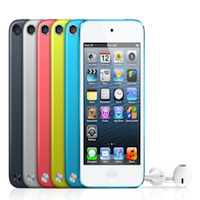 iPod Touch V5 Nouvel iPod Touch : sans capteur de luminosité