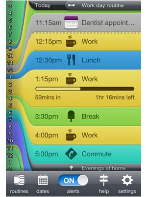 image 13 Test de Daily Routine : Gérez votre temps en toute simplicité (1,59€)