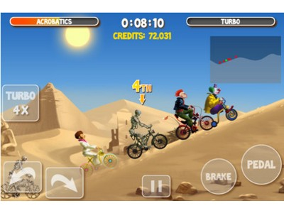 image 14 LApp Gratuite Du Jour By App4Phone : Crazy Bikers 2