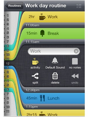 image 23 Test de Daily Routine : Gérez votre temps en toute simplicité (1,59€)