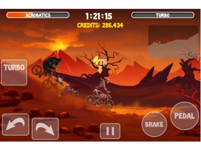 image 24 LApp Gratuite Du Jour By App4Phone : Crazy Bikers 2