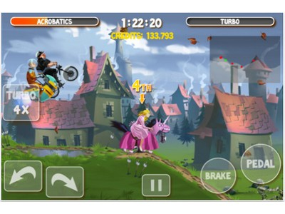 image 34 LApp Gratuite Du Jour By App4Phone : Crazy Bikers 2