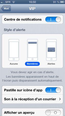 img 1398 Astuce iOS6 : Activer le mode VIP dans les mails