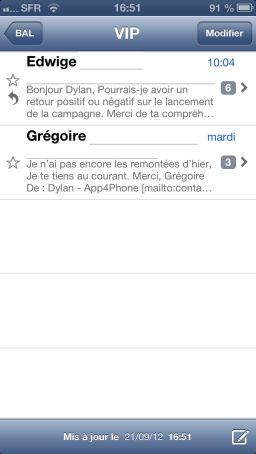 img 1399 Astuce iOS6 : Activer le mode VIP dans les mails