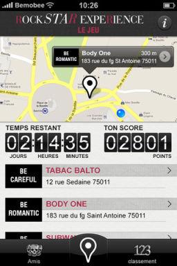 rockstar 1 LApp Gratuite Du Jour By App4Phone : Rockstar Experience