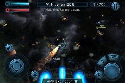 Copie écran 1 Lapplication gratuite du jour : Galaxy On Fire 2 (au lieu de 4,49€)