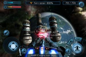 Copie Ecran 2 300x200 Lapplication gratuite du jour : Galaxy On Fire 2 (au lieu de 4,49€)