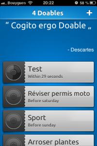 IMG 1679 200x300 Test de Doable, des tâches récurrentes à ne pas oublier ! (0,79€)