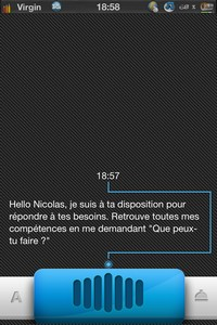 IMG 2069 Test de Angie : Un nouveau concurrent à Siri ? (1,59€)