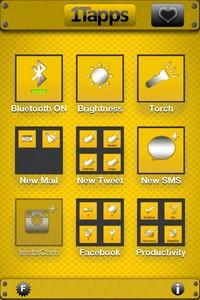 IMG 2078 1Tapps   Test de One Tap Apps : Créer des raccourcis sur son Springboard... (0,79€)