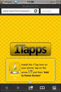 IMG 2079 1Tapps   Test de One Tap Apps : Créer des raccourcis sur son Springboard... (0,79€)