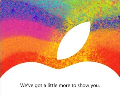 Invit event apple Officiel : Apple tiendra une Keynote le 23 octobre !
