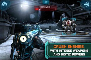 Mass Effect 3 beaux jeux iOS en promotion pour bien débuter la semaine !