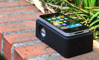 Touch AMP extérieur Touch AMP : Un amplificateur audio sans fil pour iPhone et iPod