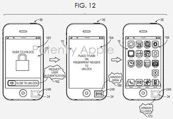 Biométrie iPhone