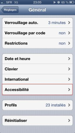 flash led ios6 Astuce iOS6 : Utiliser le flash pour les notifications